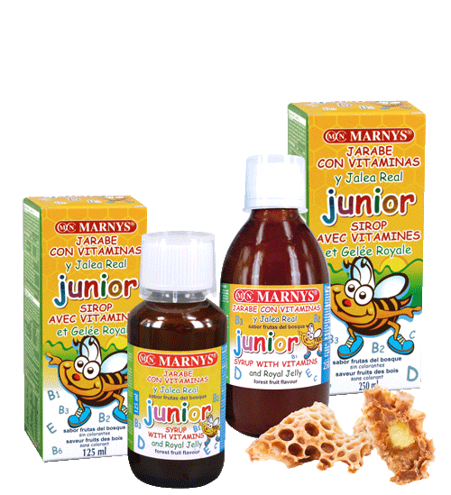 MN128-G - Junior – Multivitaminsirup mit Gelée Royale